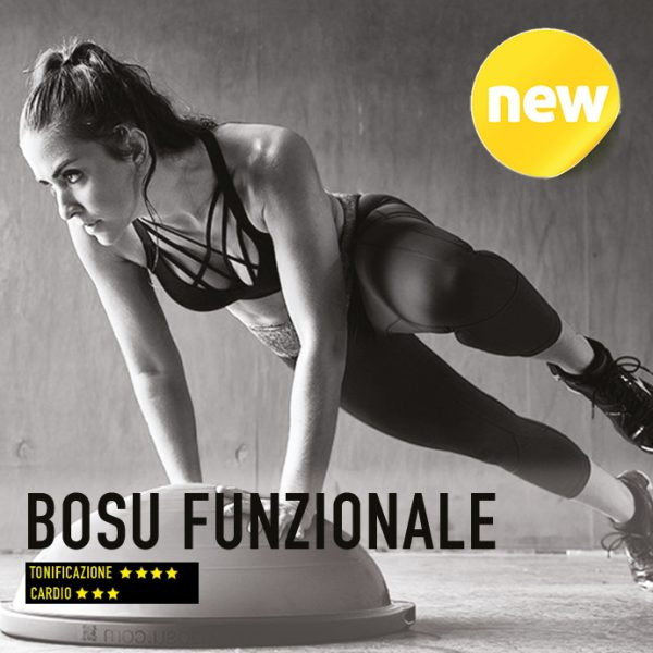 <strong>Bosu funzionale</strong><br>